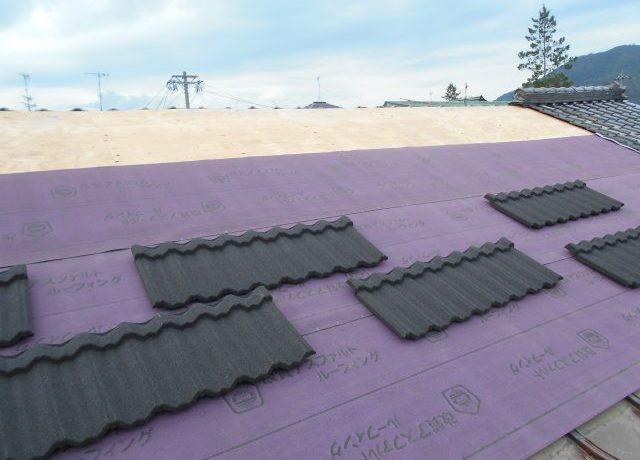 安曇野市豊科にて軽量屋根材T・ルーフ葺き替え完了しました!