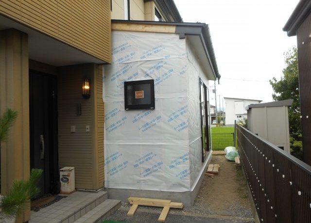 安曇野市三郷にてリビング改修工事完了!