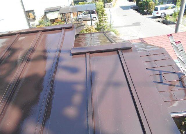 安曇野市豊科にて屋根塗装いたしました!