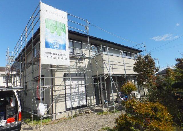 安曇野市豊科にて外壁塗装工事完了しました!