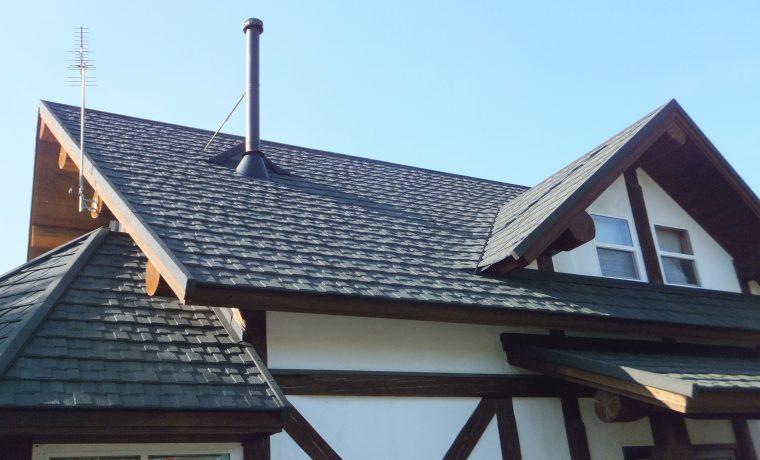 安曇野市穂高にて軽量屋根材セネターを施工しました!