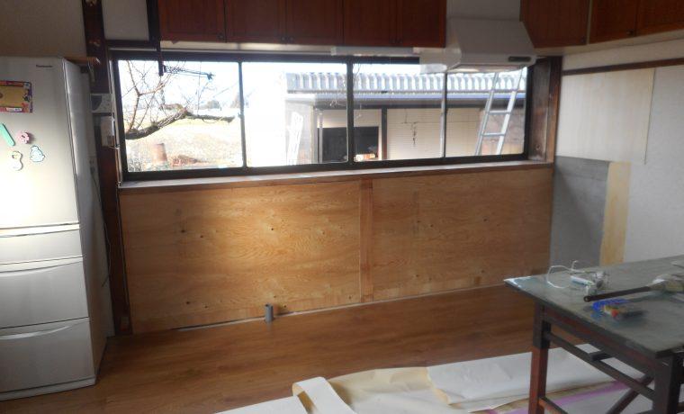 安曇野市豊科にてキッチン改修工事完了しました‼