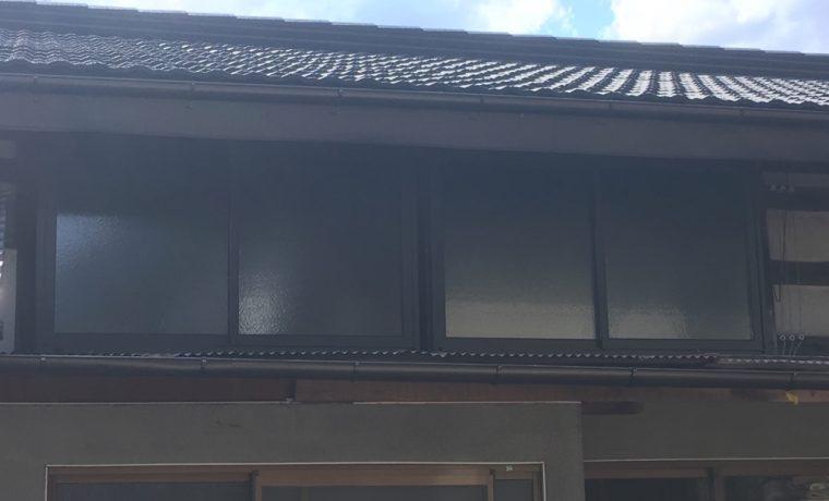 梓川倭M邸にて外サッシ&勝手口の交換工事完了しました!