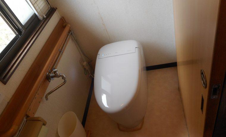 安曇野市堀金烏川M邸トイレ改修工事が完了しました‼