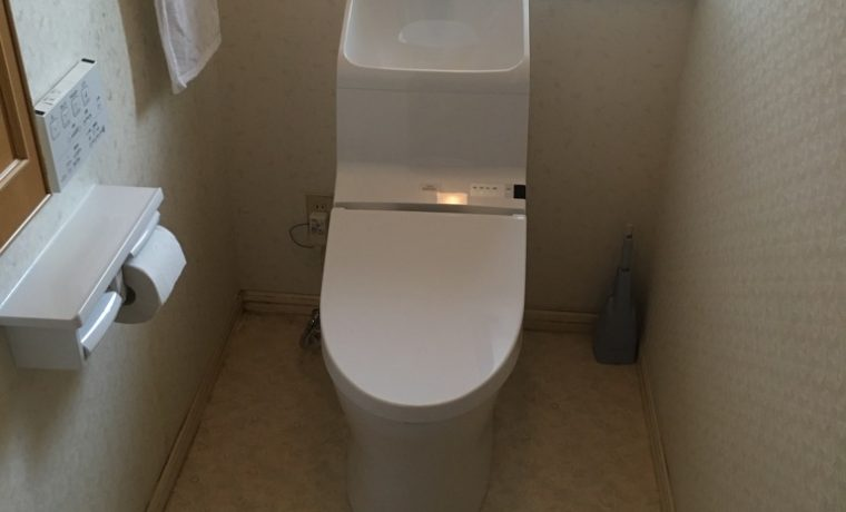 堀金烏川K邸にてトイレ交換工事完了しました!