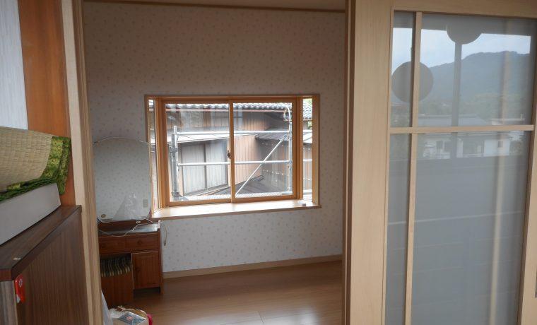 安曇野市豊科高家T邸2階の和室を洋間に改修しました‼