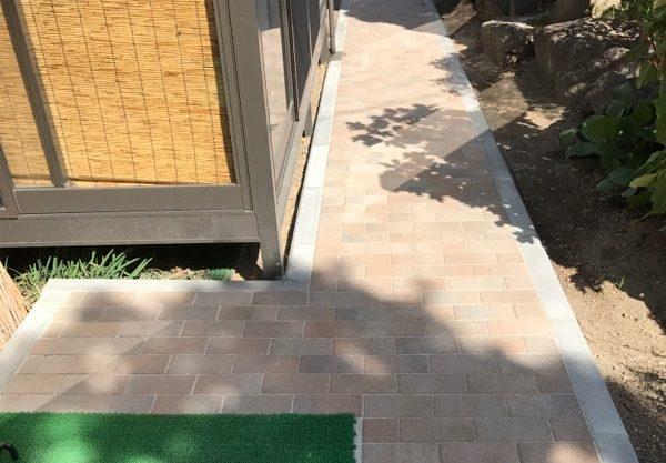 安曇野市豊科高家M邸にてスロープ設置工事完了しました‼