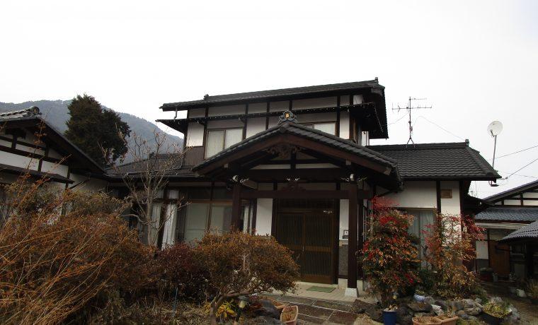 安曇野市三郷M邸にて軽量屋根材T・ルーフ施工完了いたしました‼