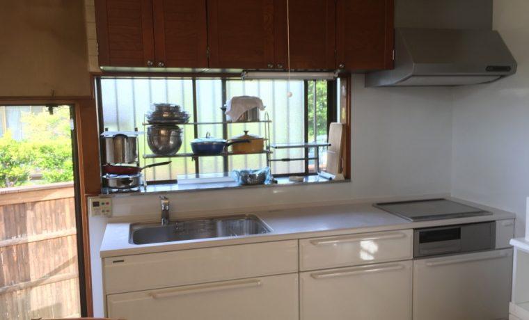 安曇野市三郷明盛T邸にてキッチン改修工事完了しました‼