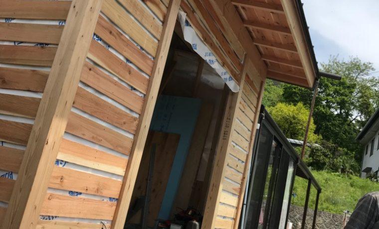 安曇野市豊科田沢M邸にて増築工事が始まりました‼