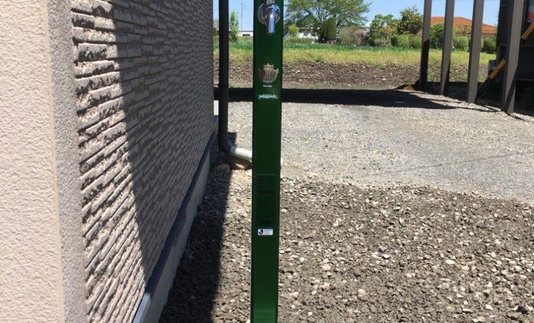 安曇野市堀金A邸にて不凍水栓柱の設置工事完了しました‼