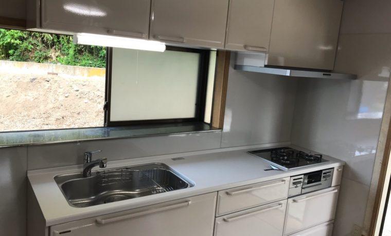 安曇野市明科Ⅿ邸にてシステムキッチン改修工事が完了しました‼