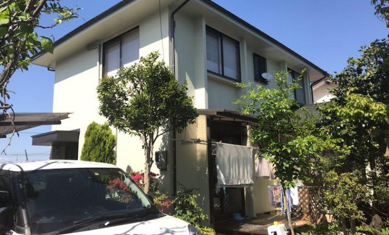 安曇野市豊科高家K邸にて外壁塗装工事が完了しました‼