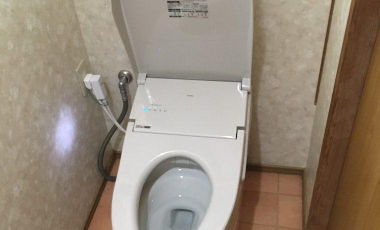 安曇野市堀金Ⅿ邸にてトイレ改修工事が完了しました‼