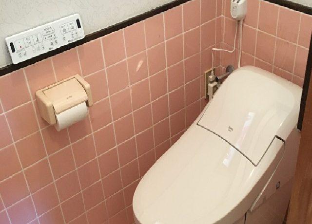 北安曇郡松川村Y邸にてトイレ交換工事完了いたしました。