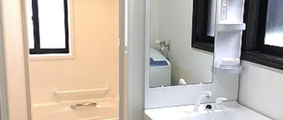 安曇野市穂高T邸にてお風呂及び洗面化粧台交換工事完了いたしました。