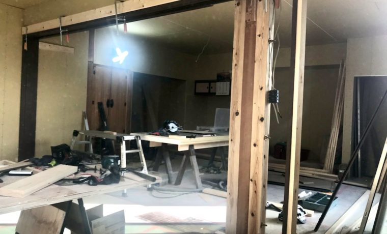 安曇野市三郷小倉F邸にてリフォーム工事が始まりました!