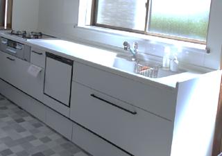 安曇野市豊科K邸にてキッチンリフォーム工事が完了しました!